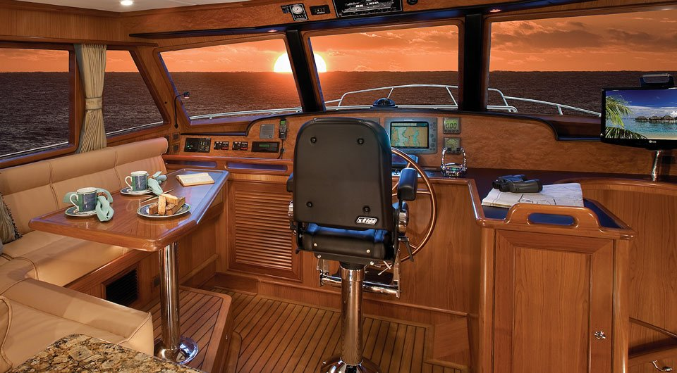 Helm Seats And Luxury Boat Chairs | STIDD Ergonomic Marine Seating
